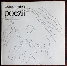 TEODOR PACA (PICA) - POEZII (DEBUT/UNIC VOLUM ANTUM)[COPERTA/DESENE FLORIN PUCA] foto