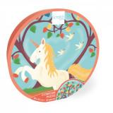Puzzle Scratch, Unicorn, 30 piese