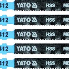 Lame HSS pentru fierastrau pendular 5 buc 21 TPI YATO