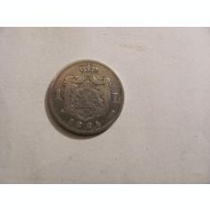 CY - Leu 1884 Romania Carol I / rara