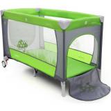 Patut pliabil cu 2 nivele Coto Baby Samba Plus Green