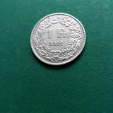 1 Franc 1911 Elvetia superb Argint aUNC, Europa