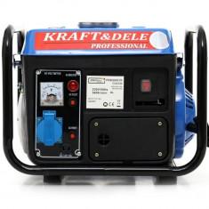 Generator electric benzina 800W 1200W 12/230V KraftDele KD109N TBC