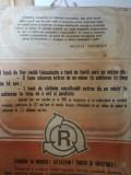 Afis romanesc comunism RECONDITIONARE RECICLARE REFOLOSIRE