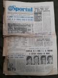Ziarul Sportul din 1 septembrie 1975
