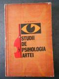 N. PARVU - STUDII DE PSIHOLOGIA ARTEI