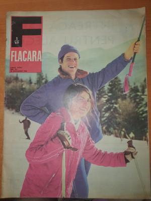flacara 25 ianuarie 1969-stefan banica,art.saveni ialomita,filmul reconstituirea foto