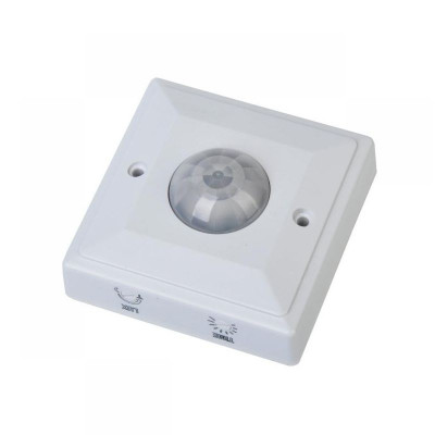 Senzor miscare pentru plafon ES207, maxim 2000 W, oprire lumina automat foto