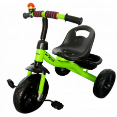Tricicleta cu pedale R-Sport T1 - Verde