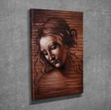 Tablou decorativ, Vega, Canvas 100 procente, lemn 100 procente, 30 x 40 cm, 265VGA1009, Multicolor