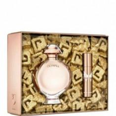 Set cadou Paco Rabanne Olympea (Apa de parfum 80 ml + Apa de parfum 10 ml), pentru femei