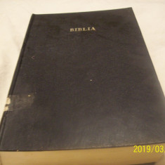 biblia sau sf scriptura v si n testament- g b v 1989, 1990