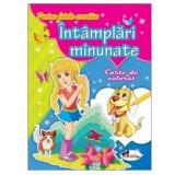 Pentru fetele creative - Intamplari minunate. Carte de colorat  , Aramis