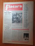 Flacara 10 noiembrie 1977-interviu ana blandiana,art. bistrita nasaud,flamanzi