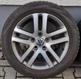 Roti/Jante VW 5x112, 205/55 R16, Passat, Golf 4, 5, 6, 7, EOS, Touran | arhiva Okazii.ro