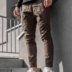 Pantaloni trening bărbați maro Bolf 0956