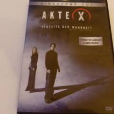 Akte x - dvd, Engleza