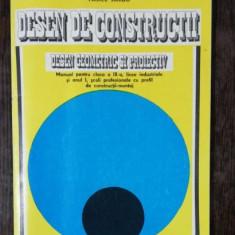 DESEN DE CONSTRUCTII -VASILE SARBU