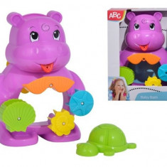 Jucarie de baie Hipopotam cu ventuze