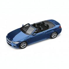 Macheta BMW Seria 4 Cabrio F33 1:43 Estoril Blue