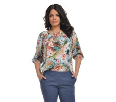 Bluza IE Dama cu model floral foto