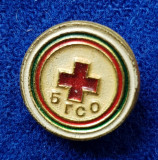Insigna Donator Onorific - CRUCEA ROSIE Medicina Sanitare Donator de sange #17