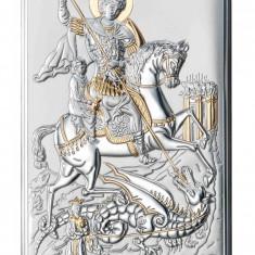Cumpara ieftin Icoana Argint Sf.Gheorghe 6.5X11cm Auriu Cod Produs 2597