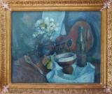 Konstantyn Ungureanu Box(1956) - Natură statică cu chitară