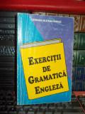 GEORGIANA GALATEANU-FARNOAGA - EXERCITII DE GRAMATICA ENGLEZA , 1994