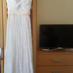 Rochie de mireasa din dantela, Atelier Diana Bobar, superba in Timisoara, Rochii de mireasa A-line