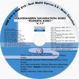 Harti Navigatie VOLKSWAGEN RNS 510,Europa EST V.17 + ROMANIA 2020