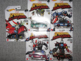 Lot HotWheels - set SpiderMan Maximum Venom 1:64