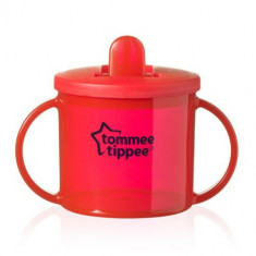 Cana Basics First Cup 190 ml Rosu, Tommee Tippee