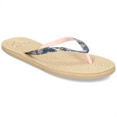 Slapi Femei Roxy South Beach II ARJL100685DUB, 37 - 40, Bej
