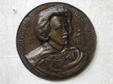 Panoplie olandeza din cupru in basorelief,Antonius van Dick