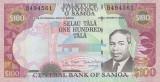 SAMOA █ bancnota █ 100 Tala █ 2006 █ P-37 █ UNC █ necirculata