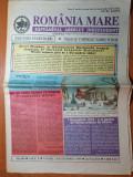 ziarul romania mare 3 decembrie 1999- 81 de ani de la marea unire de la 1918