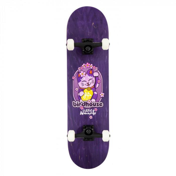 Skateboard Birdhouse Stage 3 Armanto Maneki Neko Purple 8 inch