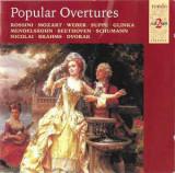 2 CD Popular Overtures, originale, muzica clasica