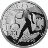 Monedă Argint - 100 de ani de la înfiinţarea Comitetului Olimpic Român