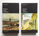 Corrado Maltese - Istoria Artei Italiene Vol 1+ 2 Biblioteca de arta Nr 186, 187