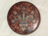 Farfurioara decorativa din glazone, cupru cu email