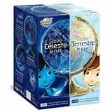 Set educativ - Glob terestru ziua, bolta cerului noaptea, Buki France