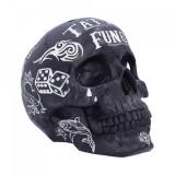 Cumpara ieftin Pusculita craniu Tattoo Fund ( Negru )