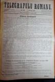 ziarul telegrafulu romanu 25 decembrie 1877-art.razboiul de independenta,carol 1