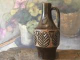 Arta / Design - Vaza deosebita din ceramica cu marcaj Laholm Keramik Sweden !