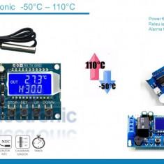 Termostat electronic digital 6-30V micro USB 5V -50 - 110 grade