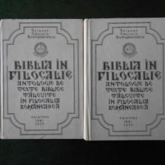 EPISCOP CALINIC BOTOSANEANUL - BIBLIA IN FILOCALIE 2 volume, editie cartonata