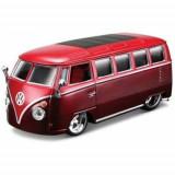 Macheta Masina Volkswagen VAN SAMBA BBURAGO Scara 1:32 Red
