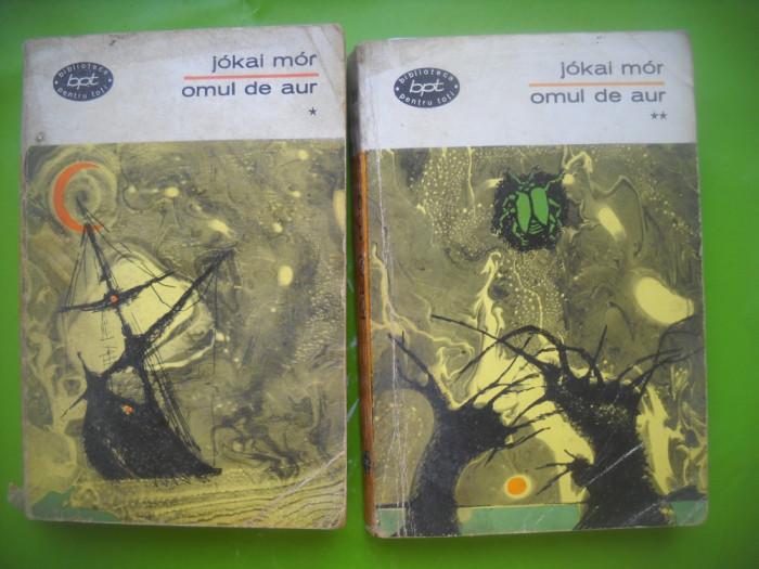 HOPCT  OMUL DE AUR /JOKAI MOR - BPT 1965 -2 VOL-672  PAGINI